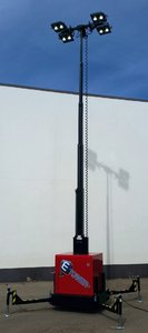 Skid Light Tower: LED option [ECO-25]